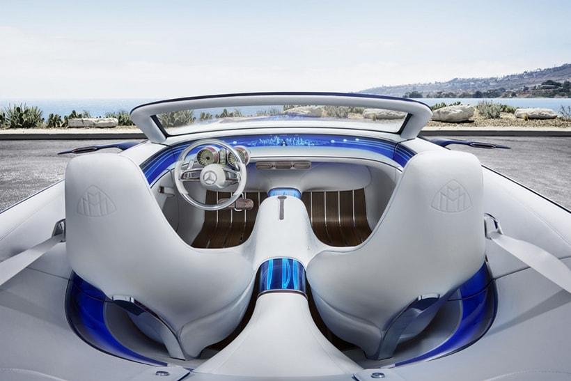 mercedes-maybach 6 cabriolet concept 4