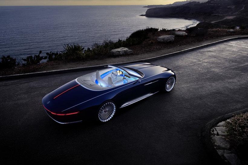 mercedes-maybach 6 cabriolet concept 7