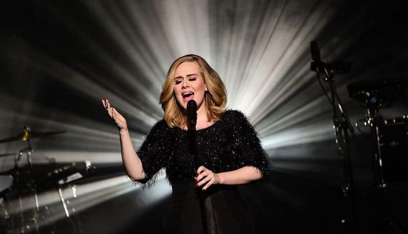 Adele concert