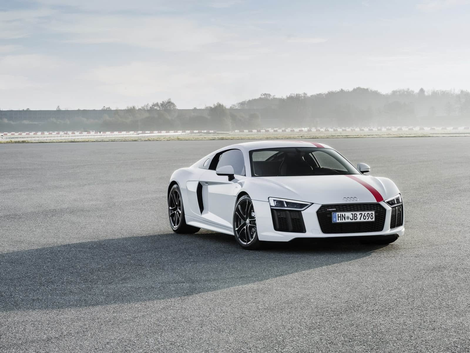 This Limited Edition Audi R8 V10 Rws Promises Rear Wheel Fun
