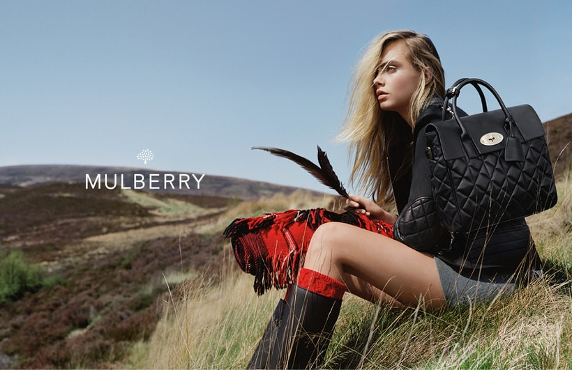 Cara Delevingne Mulberry