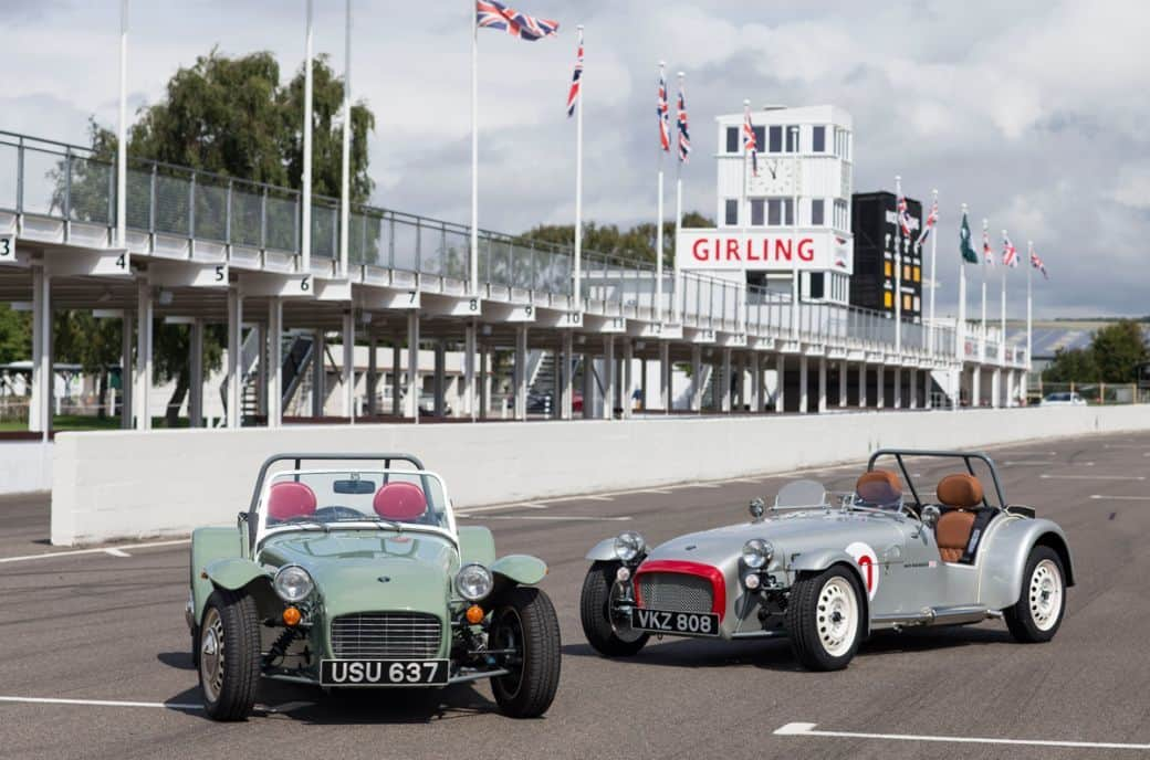 The Caterham Seven SuperSprint is an Exciting Little Car