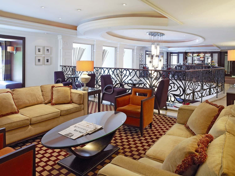 Corinthia Hotel Budapest Executive Lounge