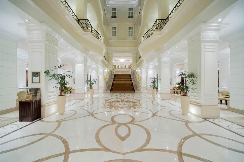 Corinthia Hotel Budapest lobby