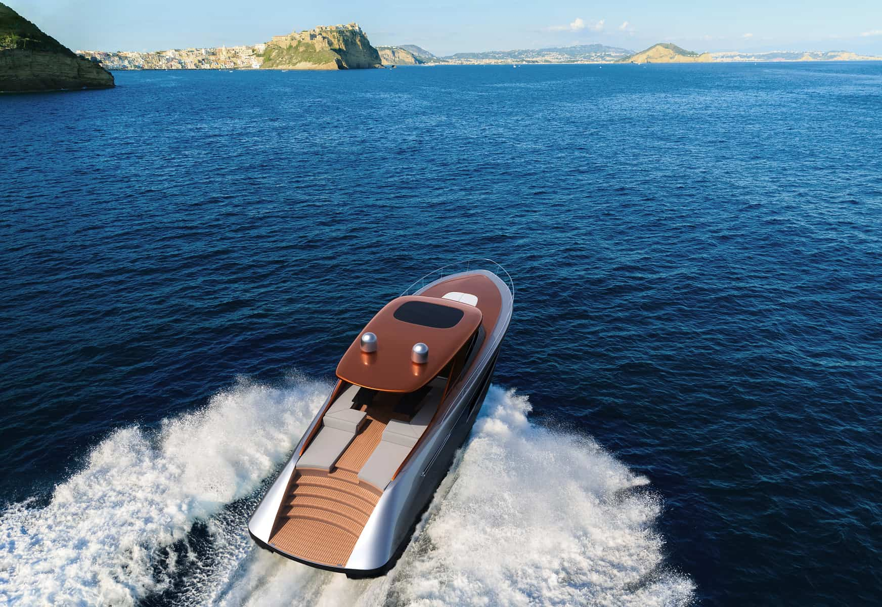 Isaac Burrough Motor Yacht