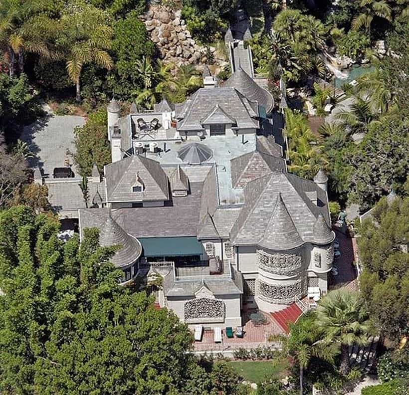 Johnny Depp Hollywood Home