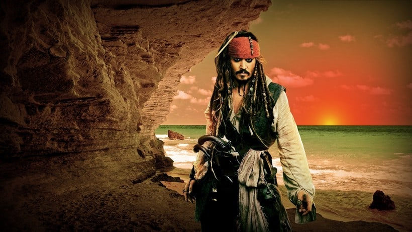 Johnny Depp Pirates of the Caribbean