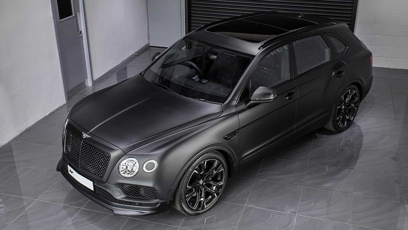 Kahn's Bentley Bentayga Le Mans Edition Hides In The Dark