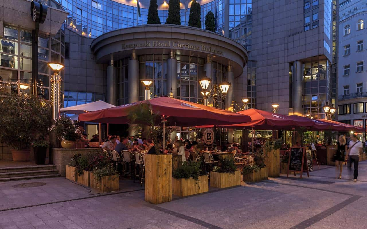 Kempinski Hotel Corvinus Budapest Terrace