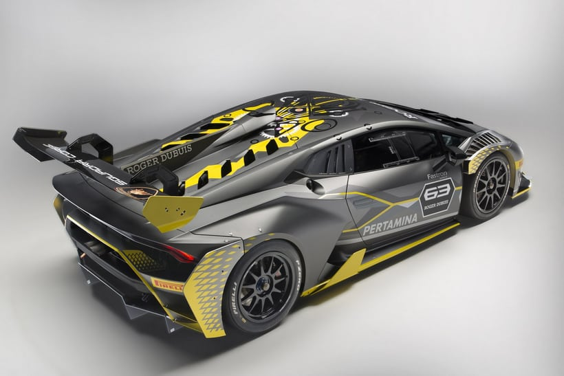 Lamborghini Huracan Super Trofeo EVO 4