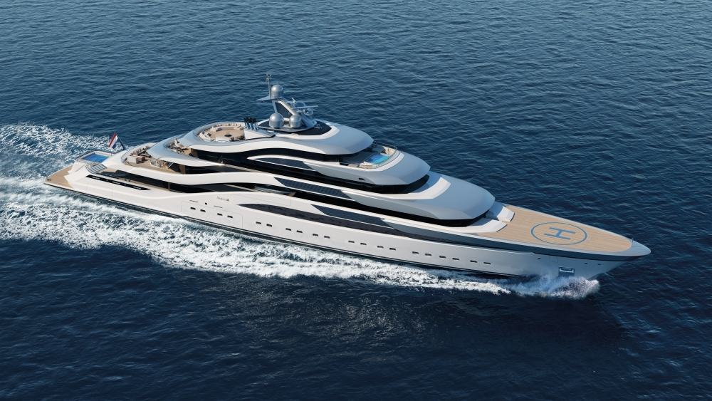 Take over the Seas with Amels' Sleek Pollux Concept