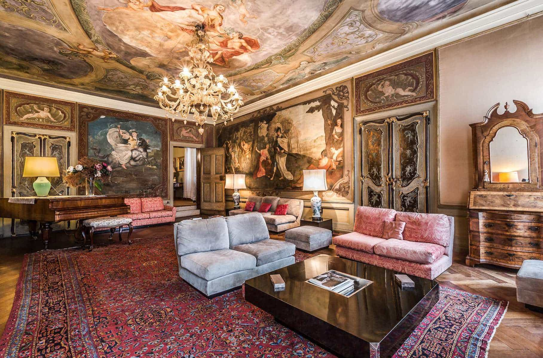Breathtaking Venice Palazzo Hits The Market For 10 6m