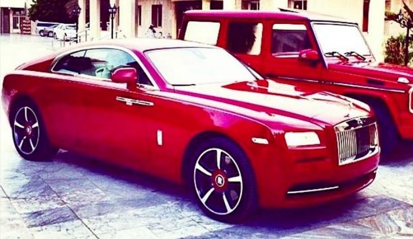 Tiesto Rolls Royce Wraith