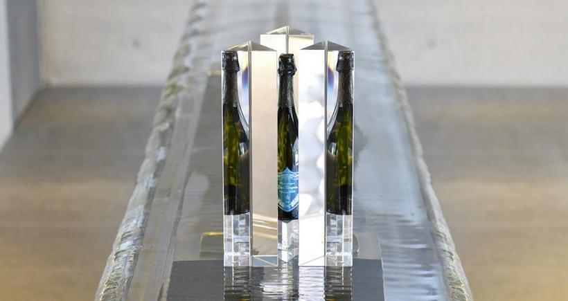 Tokujin Yoshioka Designs a Baccarat Crystal Dom Perignon Case
