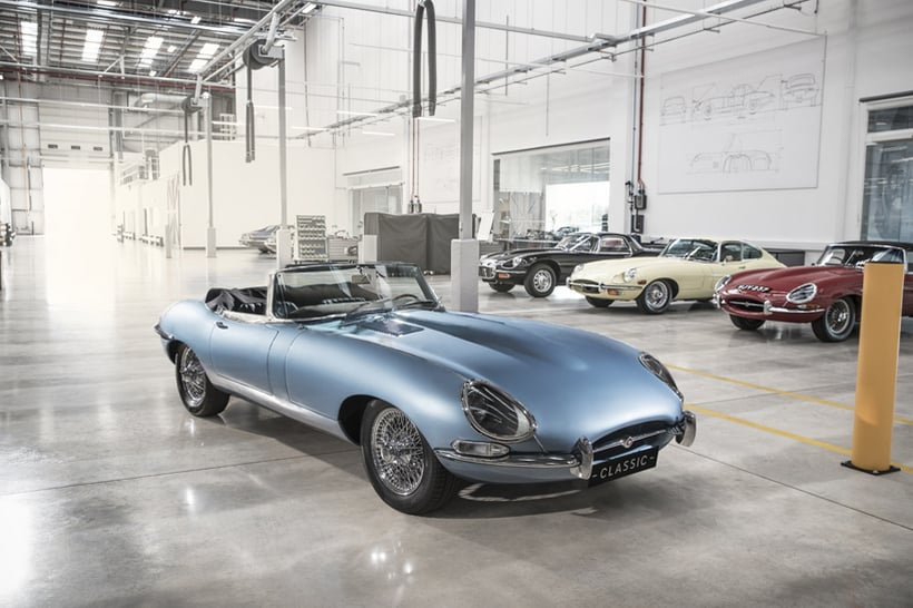 Jaguar E-Type Zero is a Vision of Automotive Perfection