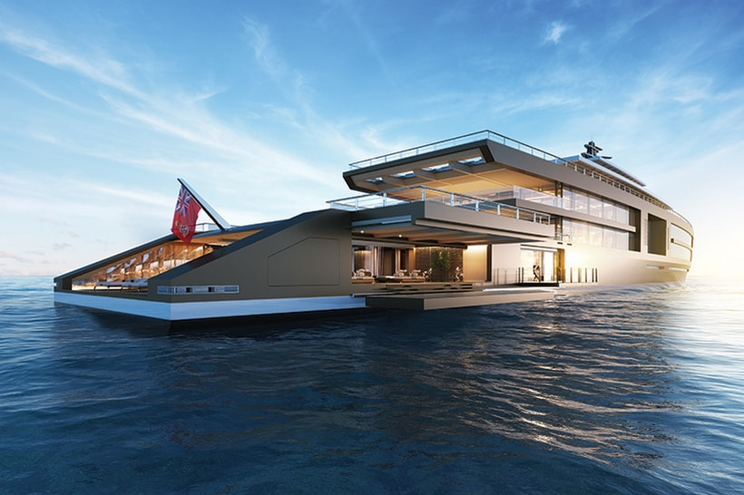 Sinot Takes On Nature With an Extraordinary 120M Yacht