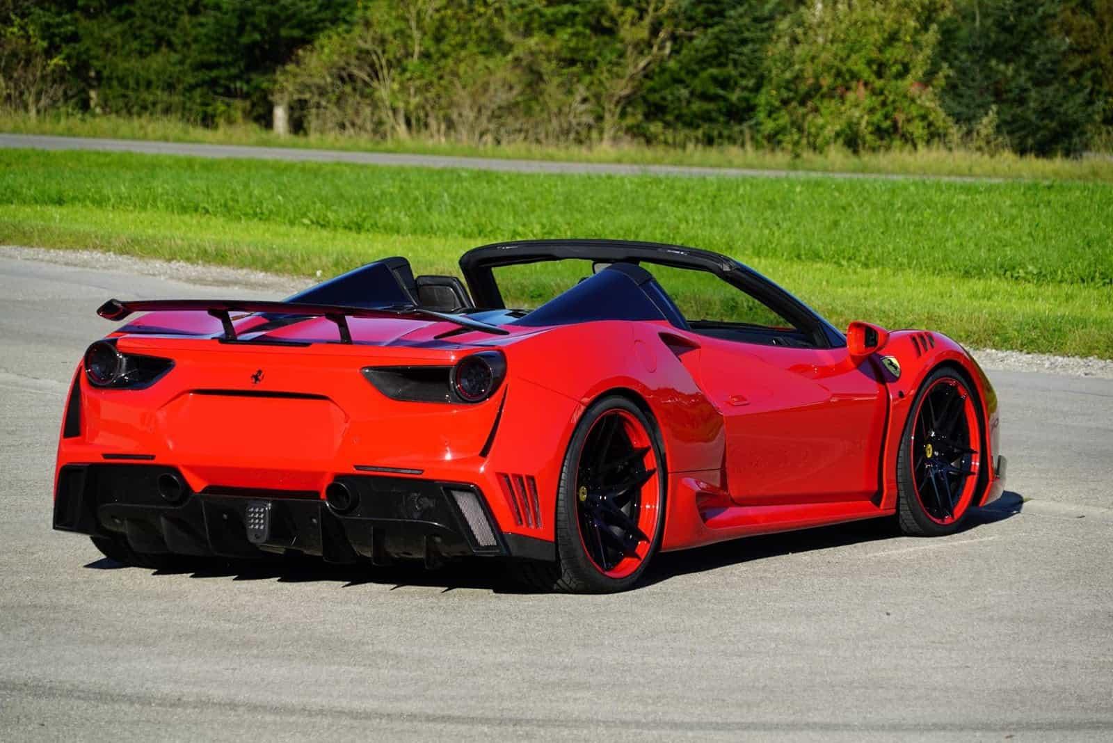 Ferrari 488 Spider Novitec