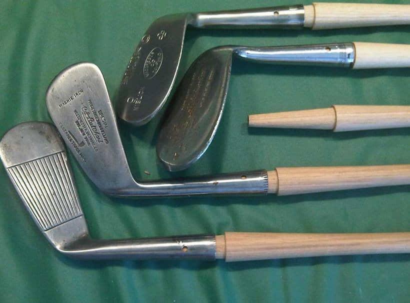 Long Nose Scraped Golf Club
