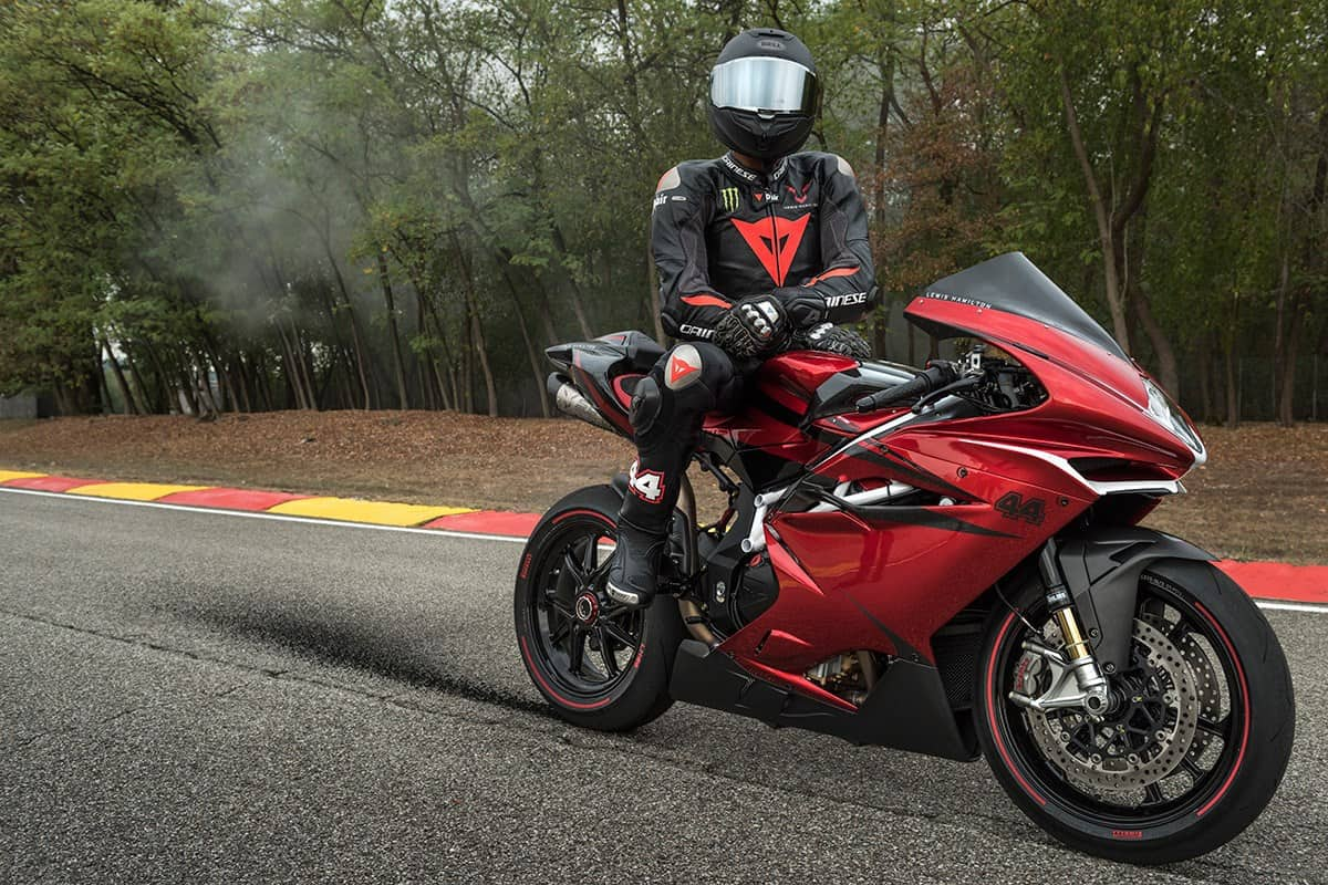 MV Agusta F4 LH44 Benefits From Lewis Hamilton's Touch