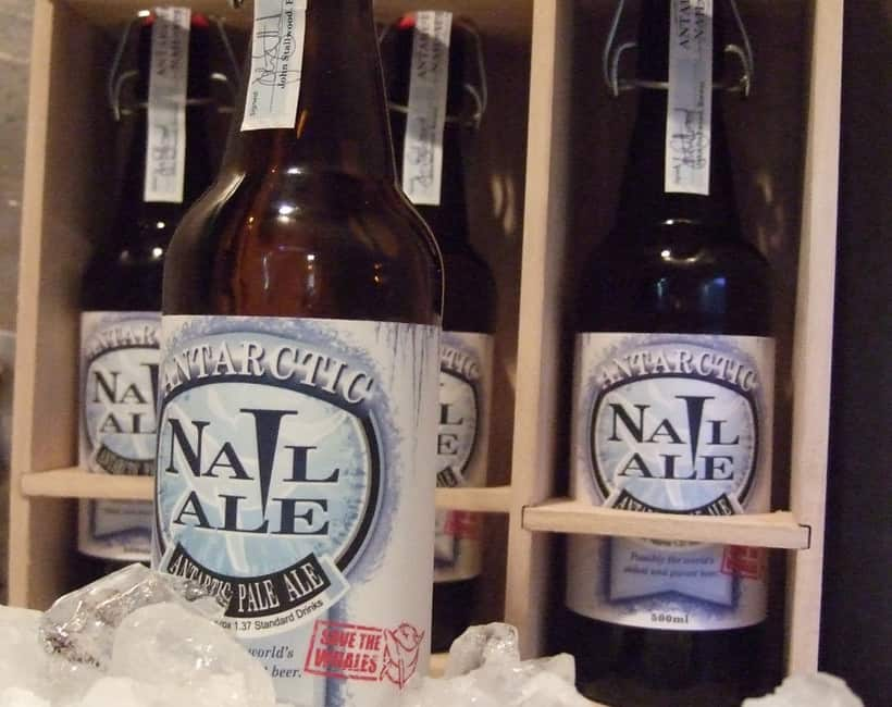 Nail Brewing's Antarctic Nail Ale
