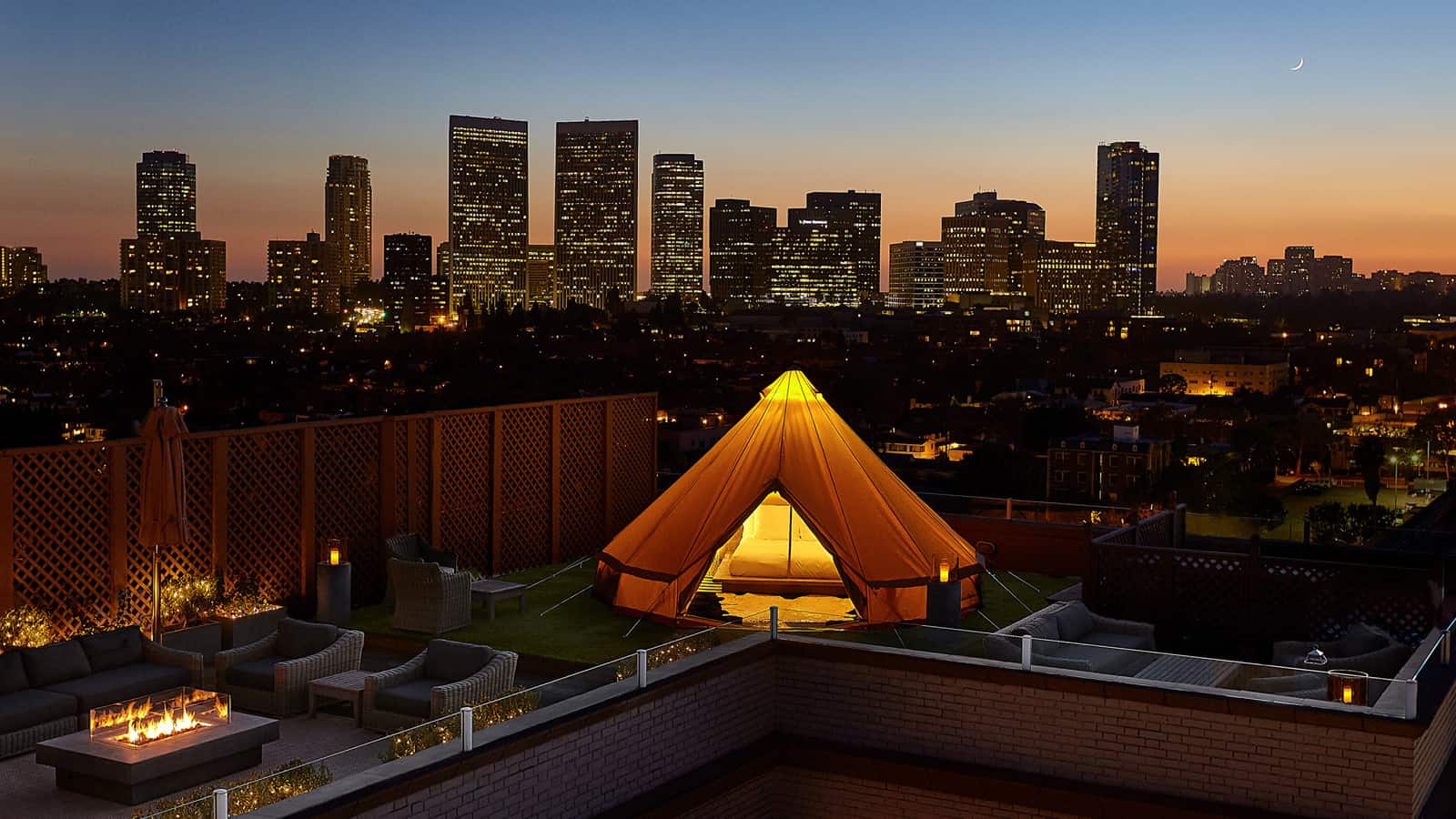 Beverly Wilshire Urban Glamping