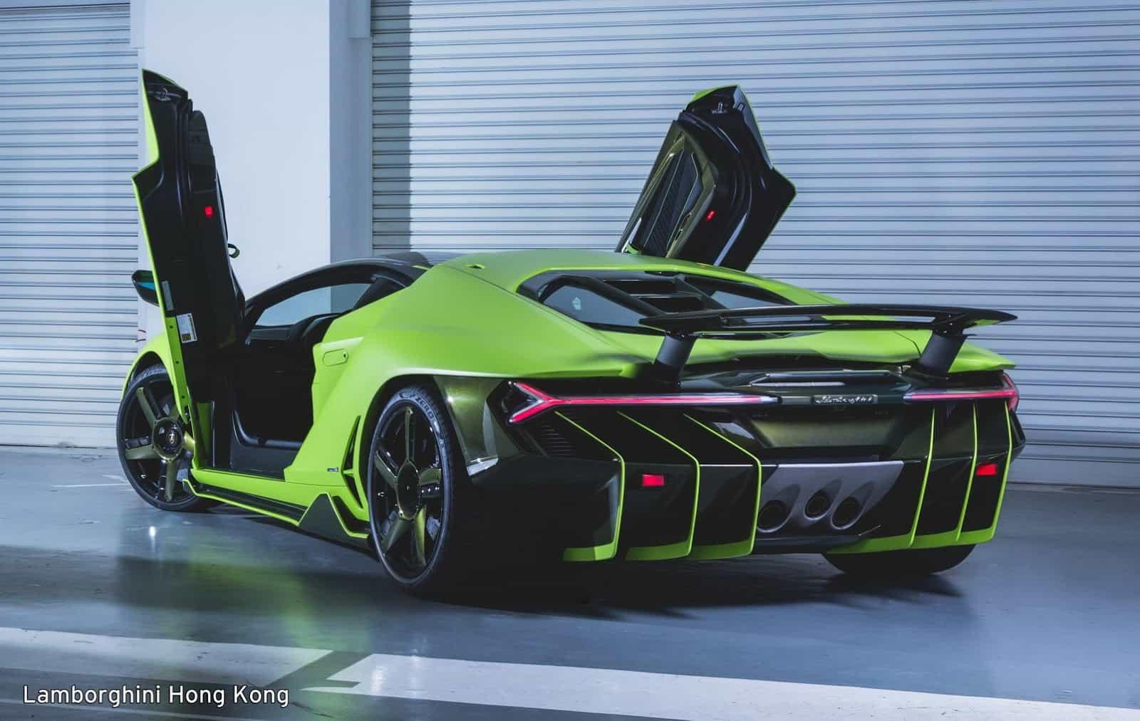 Verde Bronte Lamborghini Centenario