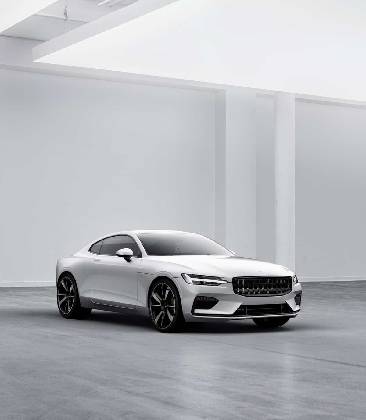 The Stunning Polestar 1 Hybrid Coupe Has Just Arrived