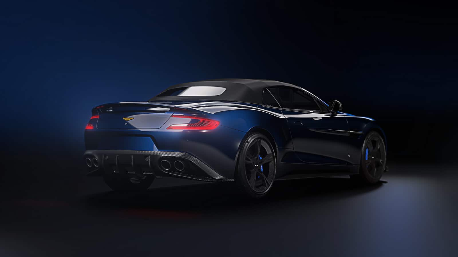 Aston Martin Vanquish Volante Tom Brady Signature Edition