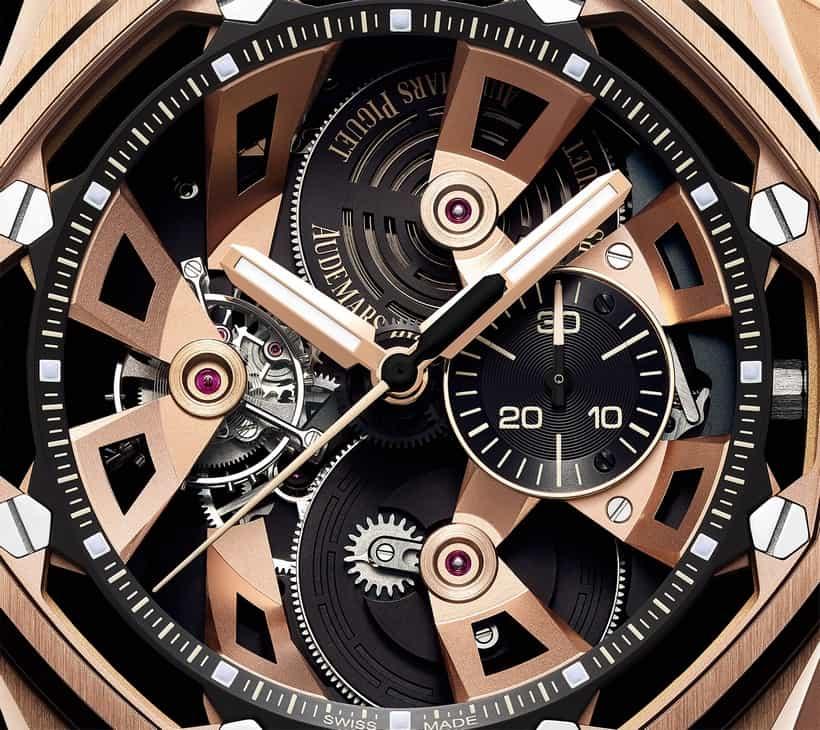 Audemars Piguet Royal Oak Offshore Tourbillon Chronograph 25th Anniversary