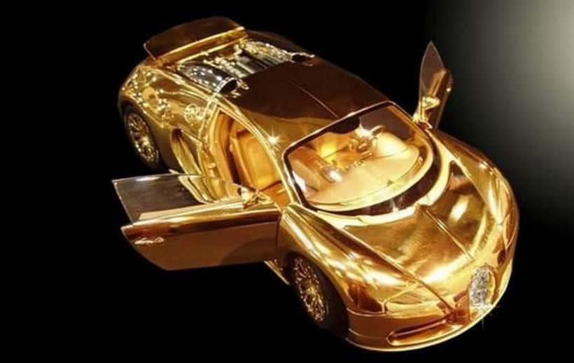 24K Gold Bugatti Veyron