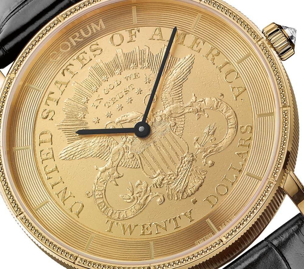 Corum Heritage Artisans Coin Watches