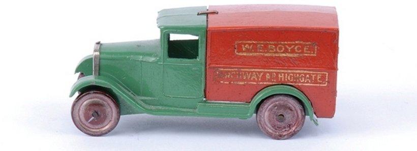 Dinky Pre-war No.22D Delivery Van 'W.E. Boyce'
