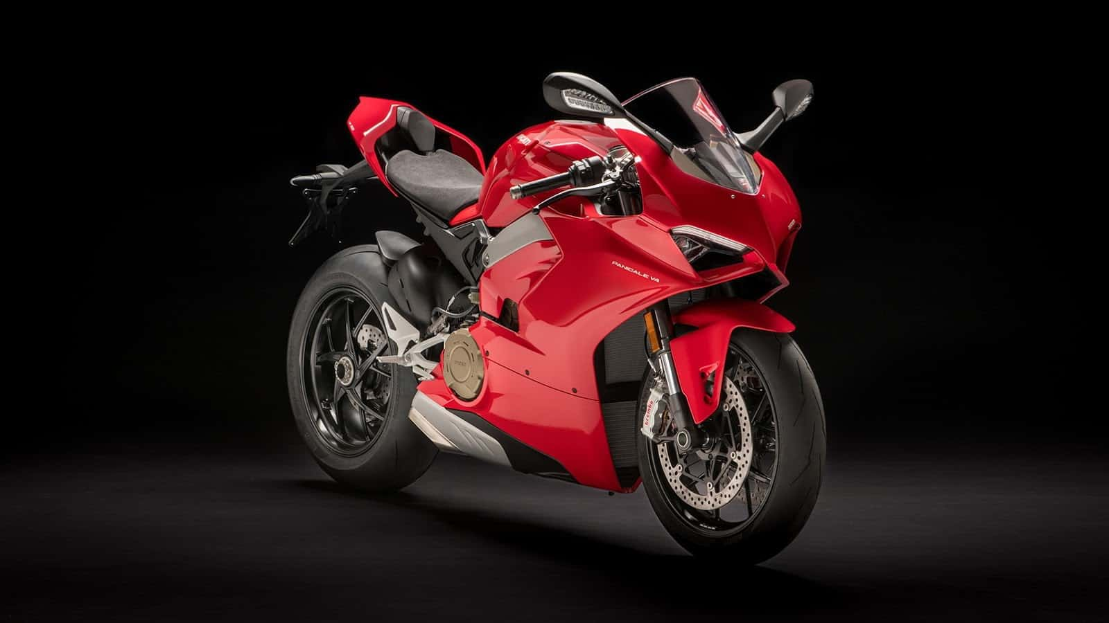 The Fiery Red Ducati Panigale V4 Joins In On The Fun