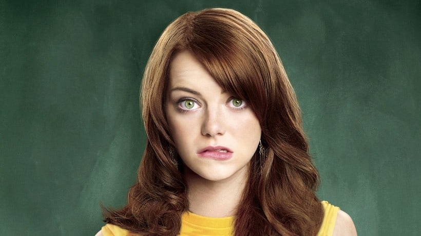 Emma Stone young