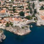 Hilton Imperial Dubrovnik aerial view