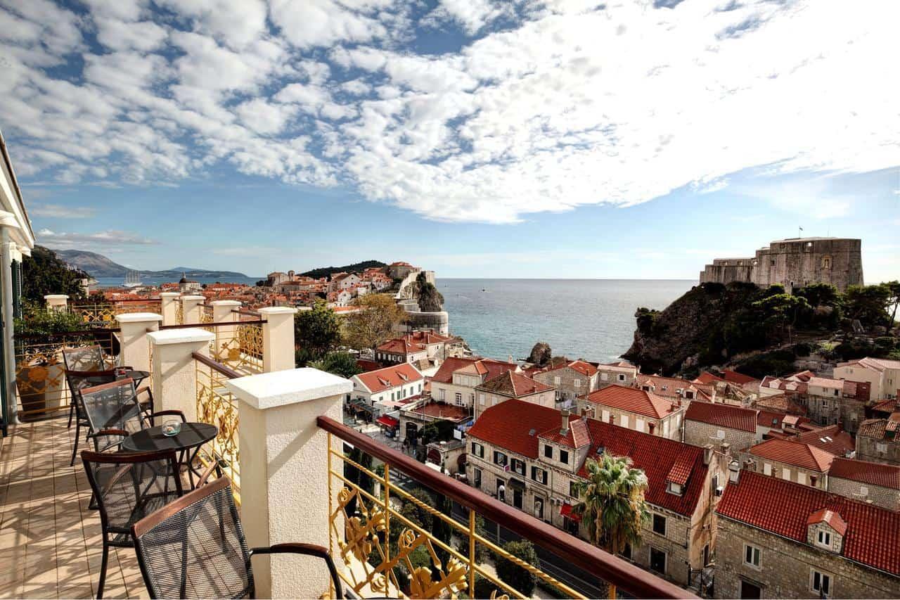 Hilton Imperial Dubrovnik executive lounge