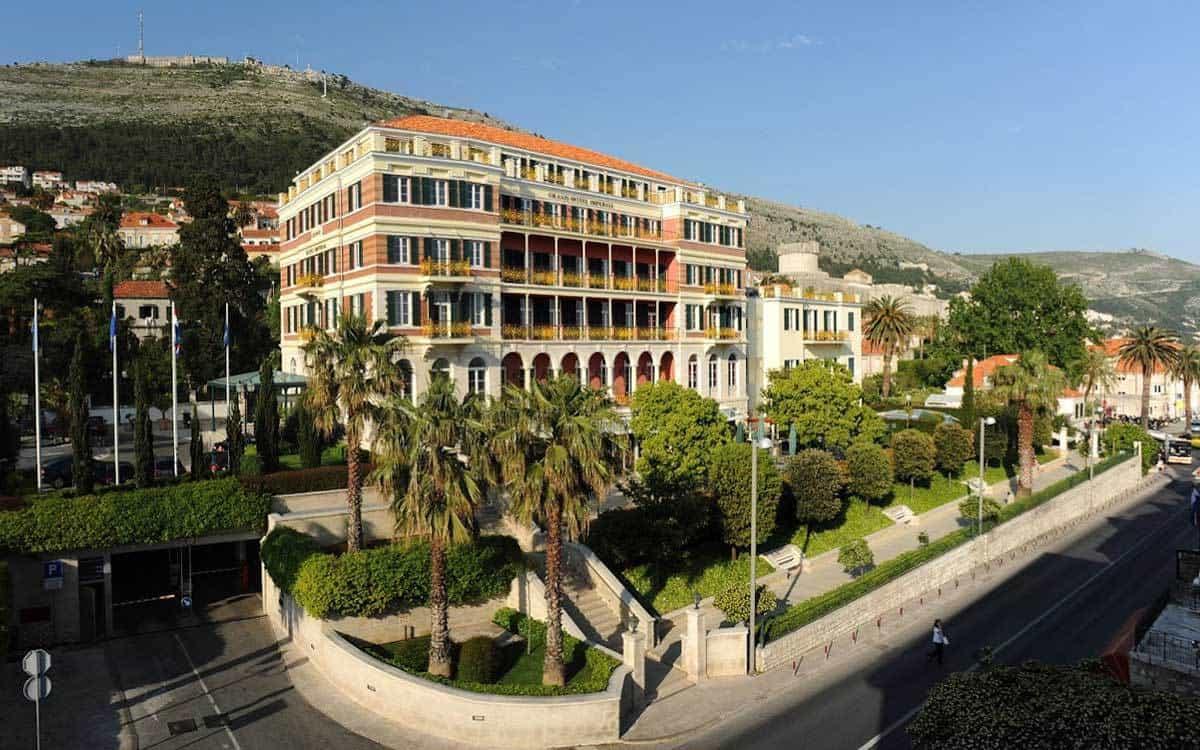 Hilton Imperial Dubrovnik exterior