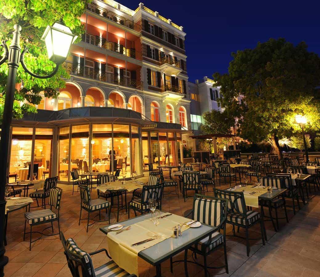 Hilton Imperial Dubrovnik terrace
