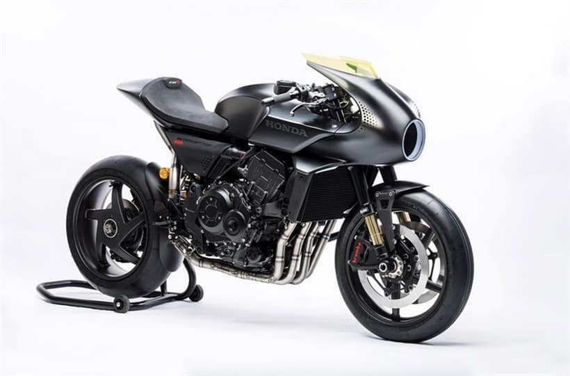 the new honda cb4 interceptor is a retro futuristic marvel