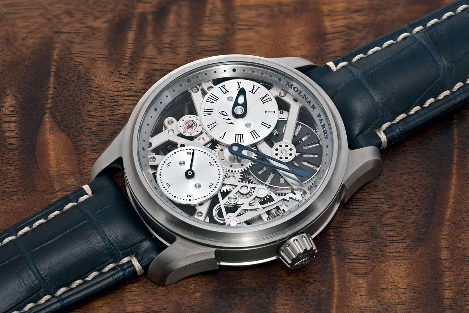Molnar Fabry s Time Machine Regulator 911 is a Real Treat