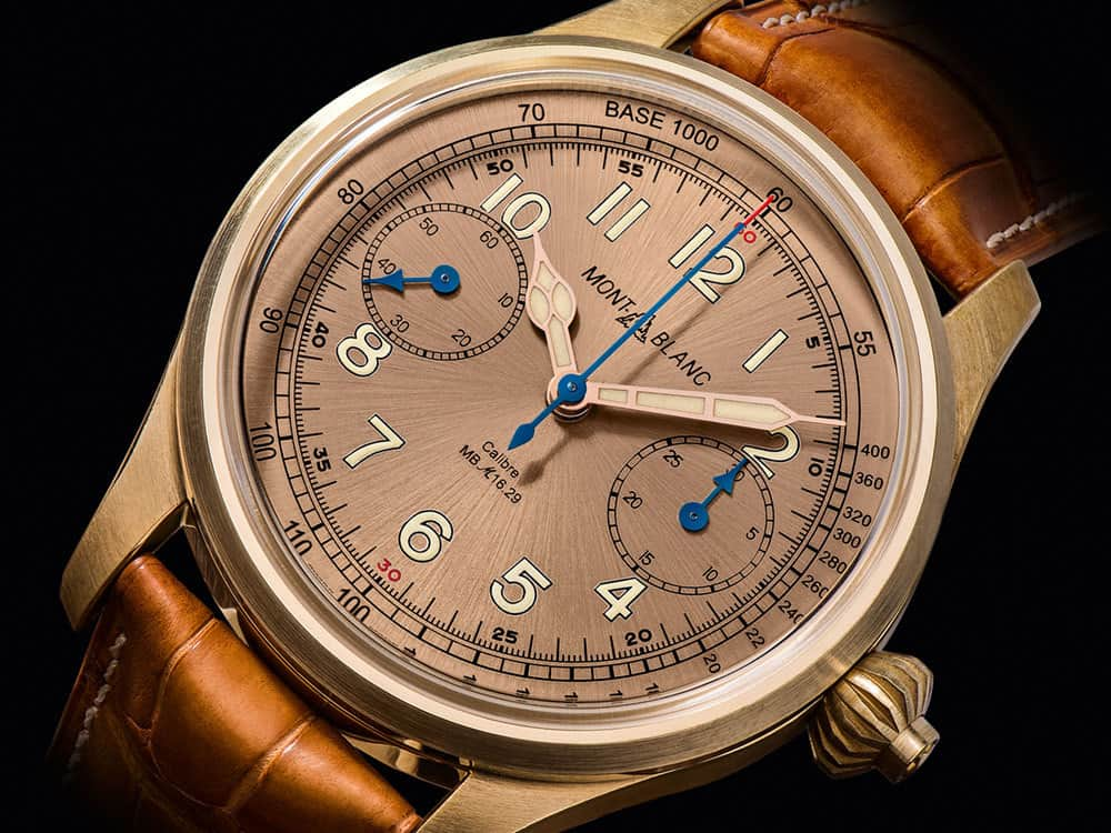 The Montblanc 1858 Chronograph Tachymeter Limited Edition 100