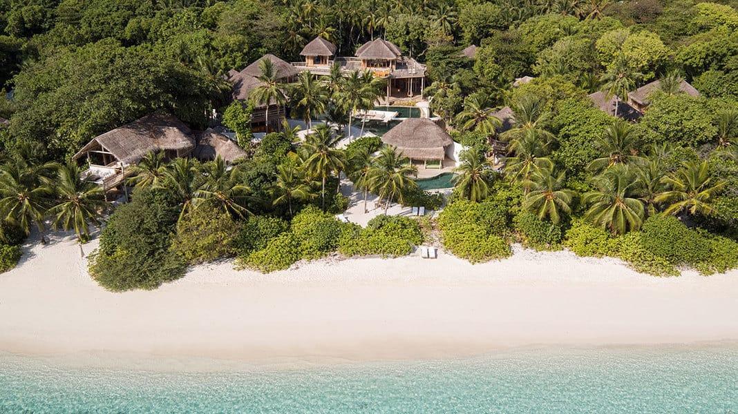 Oceanfront Villa in the Maldives