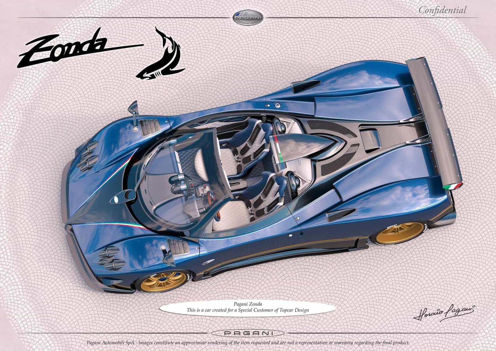 Pagani Zonda S Roadster TopCar