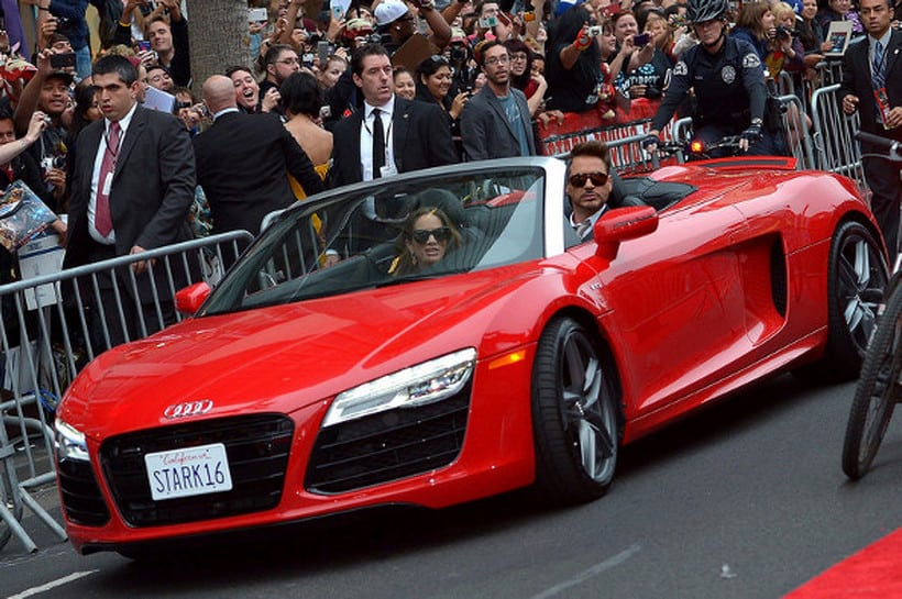 Robert Downey Jr. audi r8