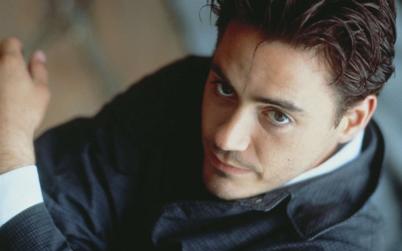 Robert Downey Jr. young