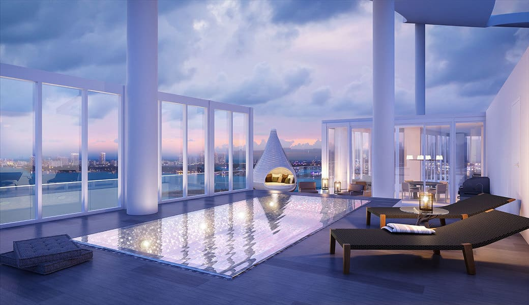 Biscayne Beach Residences Penthouse