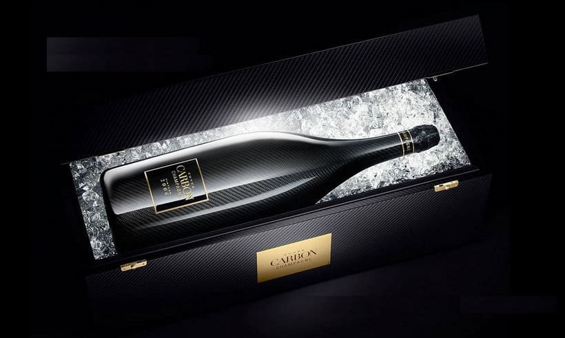 Magnum of Cuvée Carbon Champagne by the House of Devavry