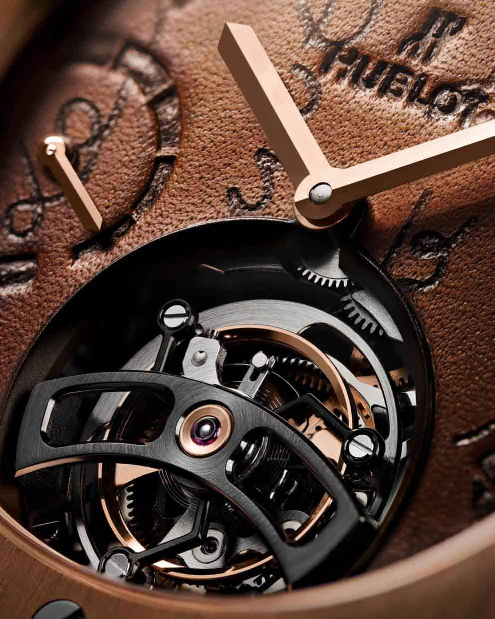 Hublot Classic Fusion Tourbillon for Berluti