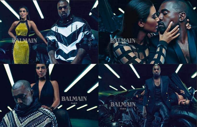 Kim Kardashian Balmain