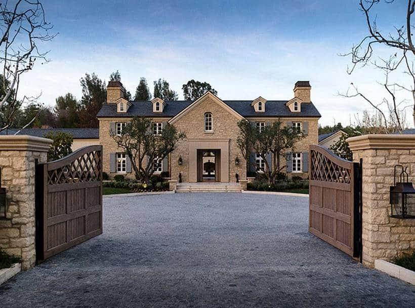 Kim Kardashian home